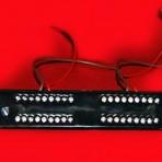 36 LED 12-24V RECTANGULAR FLASHING LAMP