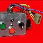 CONTROL BOX WITH STARTER BUTTON